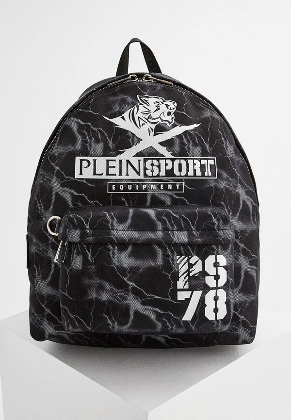 Фото - мужской рюкзак Plein Sport черного цвета