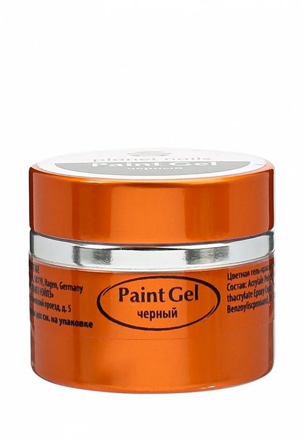 Купить Гель-лак для ногтей Planet Nails, 11817 Paint Gel черная 5 г, PL009LWANGU9, черный, Весна-лето 2018