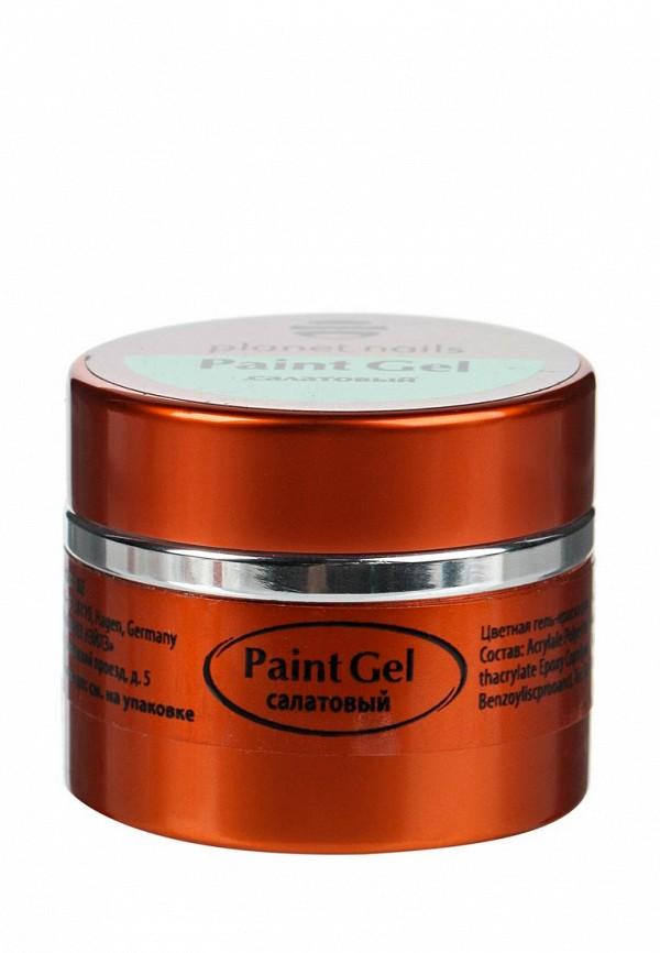 Гель-лак для ногтей Planet Nails Planet Nails PL009LWANGV4 гель лаки planet nails гель краска без липкого слоя planet nails paint gel неоново желтая 5г