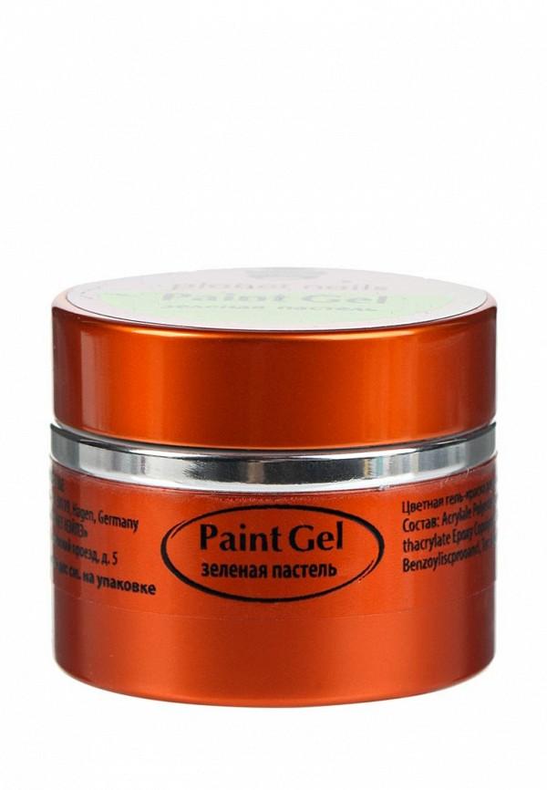 Гель-лак для ногтей Planet Nails Planet Nails PL009LWANGW0 гель лаки planet nails гель краска без липкого слоя planet nails paint gel неоново желтая 5г