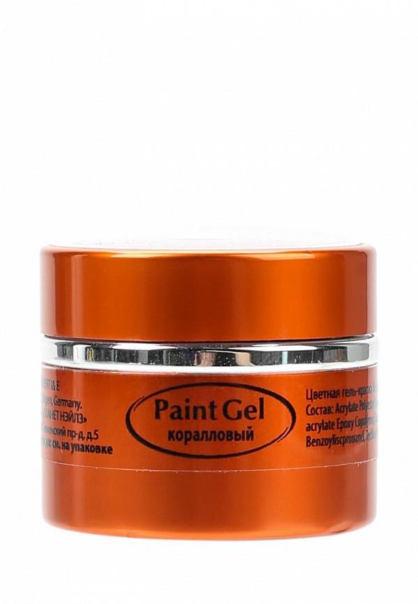 Купить Гель-краска для ногтей Planet Nails, Paint Gel - 11905 Коралловый, 5 г, PL009LWANGZ4, коралловый, Весна-лето 2018