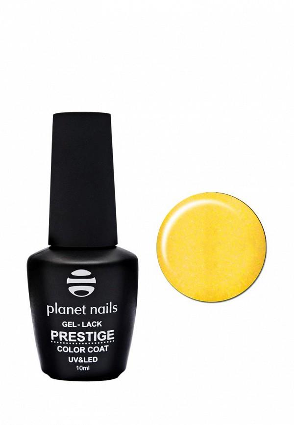 Купить Гель-лак для ногтей Planet Nails, PRESTIGE - 567, 10 мл золотисто-желтый перламутр, PL009LWANHI2, золотой, Весна-лето 2018