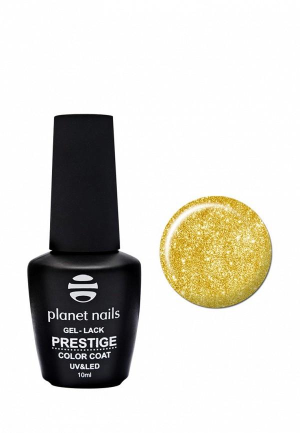 Купить Гель-лак для ногтей Planet Nails, PRESTIGE - 568, 10 мл сверкающее золото, PL009LWANHI3, золотой, Весна-лето 2018