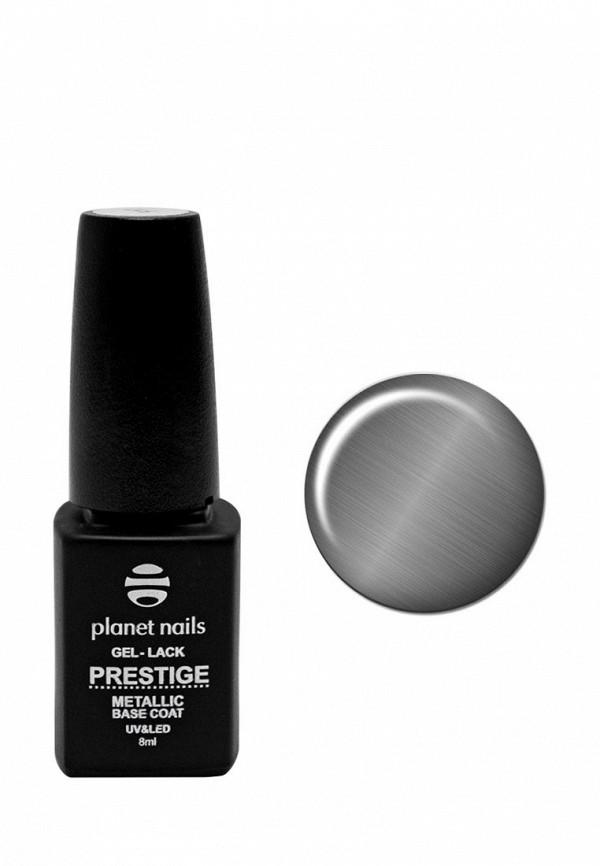 Купить Гель-лак для ногтей Planet Nails, PRESTIGE METALLIC , 8 мл металлик, PL009LWANHJ1, серый, Весна-лето 2018