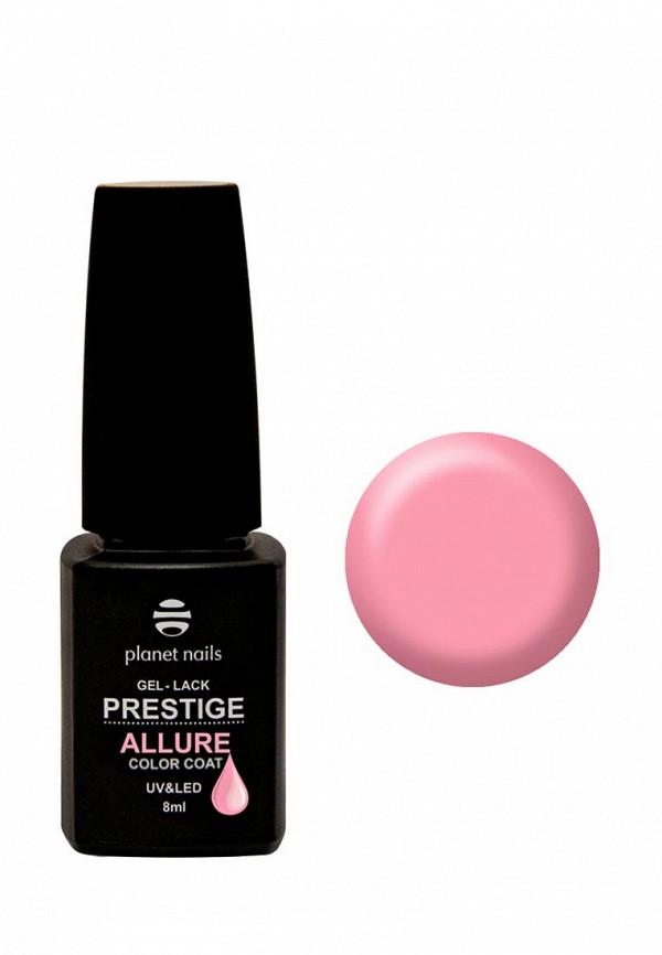 Купить Гель-лак для ногтей Planet Nails, PRESTIGE ALLURE - 605, 8 мл розовый, PL009LWANHN1, Весна-лето 2018
