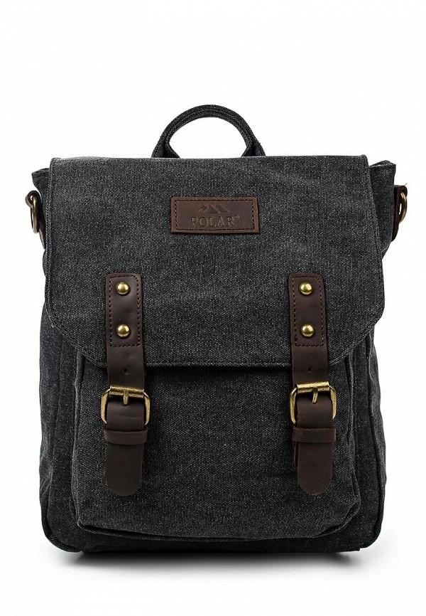 Городской рюкзак Polar 1510-05 черный