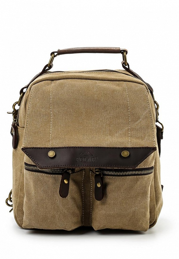 Городской рюкзак Polar П1449-13 бежевый