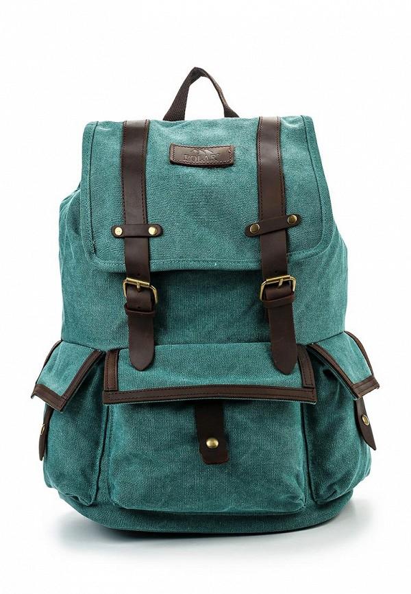 Городской рюкзак Polar П3303-09 зеленый