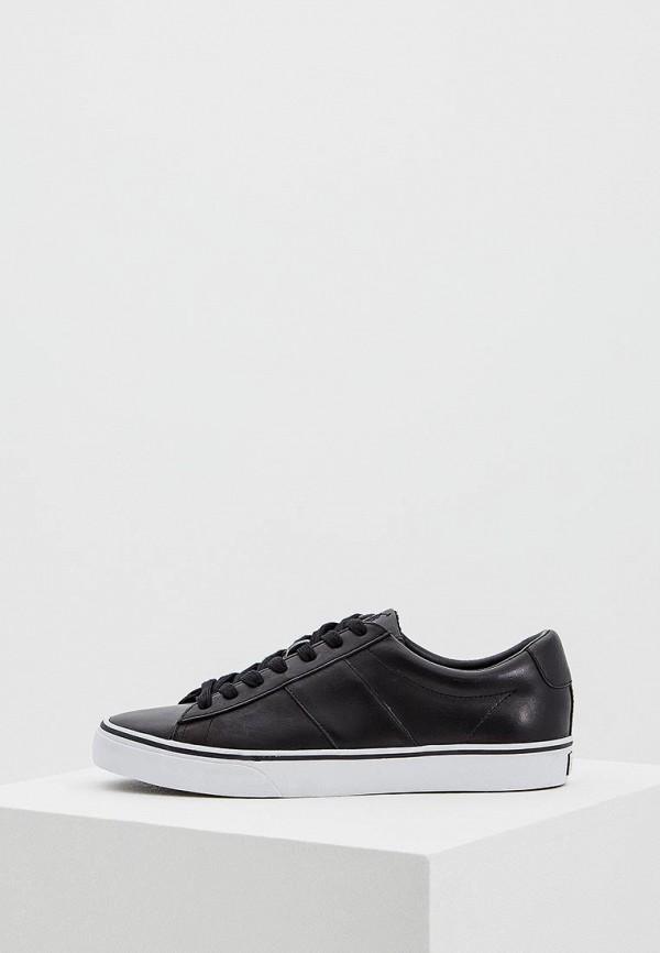 Купить Кеды Polo Ralph Lauren, PO006AMASYL7, черный, Весна-лето 2018