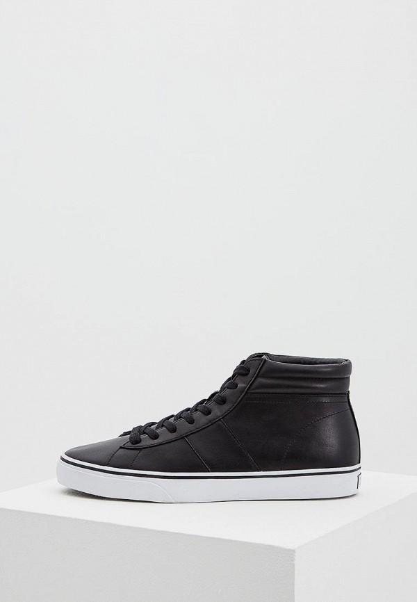 Купить Кеды Polo Ralph Lauren, PO006AMASYM6, черный, Весна-лето 2018