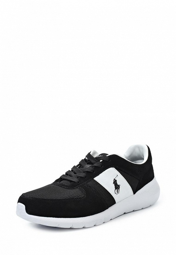 Фото - мужские кроссовки Polo Ralph Lauren черного цвета