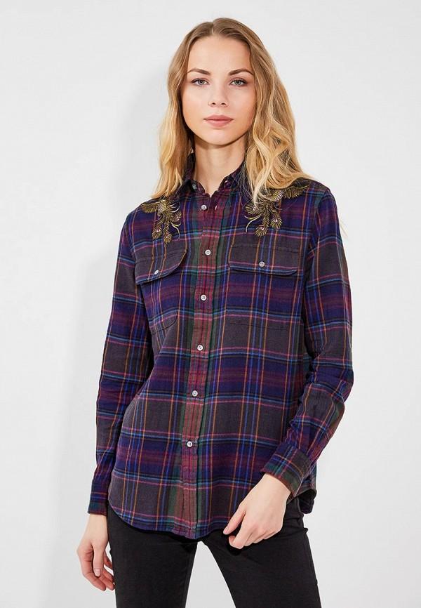 Рубашка Polo Ralph Lauren Polo Ralph Lauren PO006EWUIL38 джинсы polo ralph lauren polo ralph lauren po006ewvzk46
