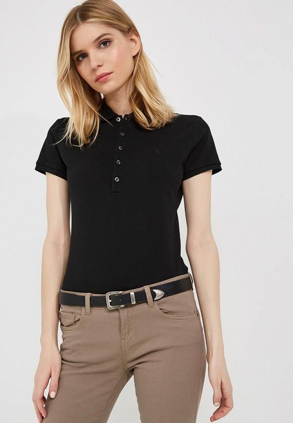 Купить Поло Polo Ralph Lauren, PO006EWYYV04, черный, Весна-лето 2018
