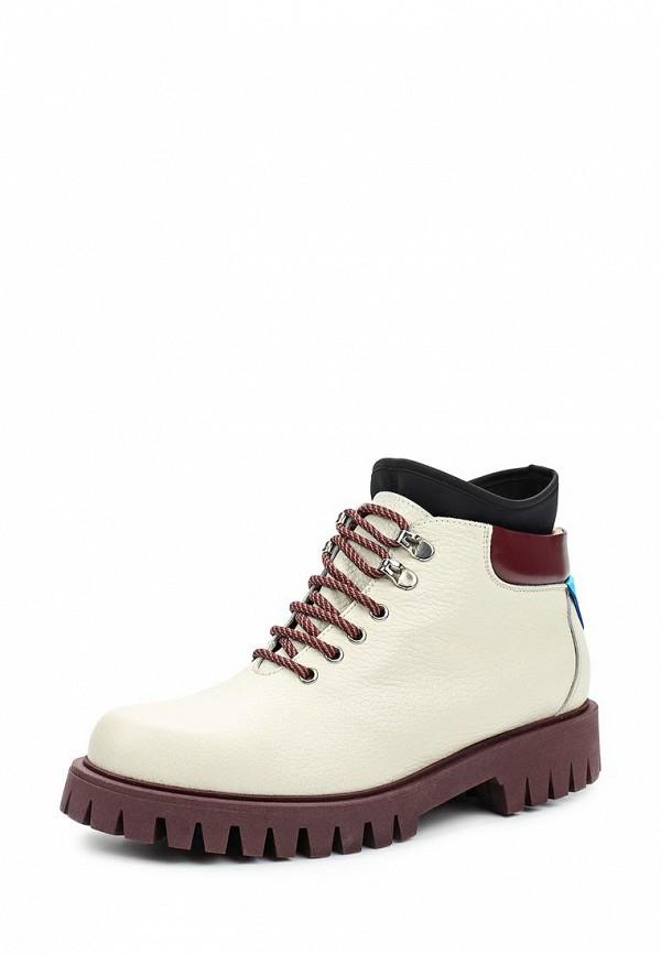 Ботинки Pollini. Цвет: белый