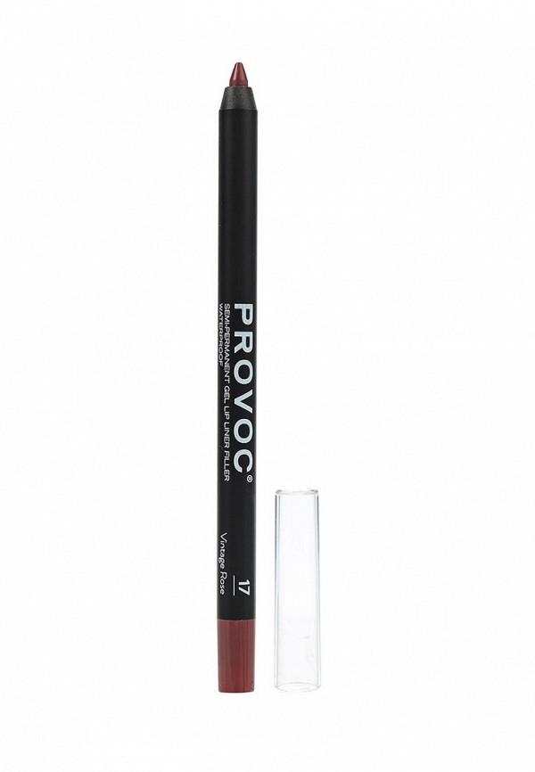 Карандаш для губ Provoc Provoc PR031LWZYF03 карандаш для бровей provoc provoc pr031lwzyh46