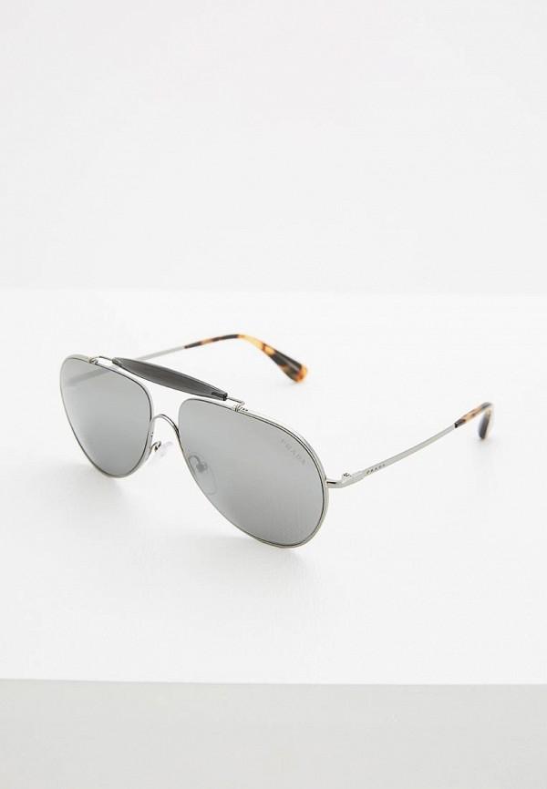 Очки солнцезащитные Prada Prada PR040DMOWW20 очки солнцезащитные prada prada pr040dmsuk35