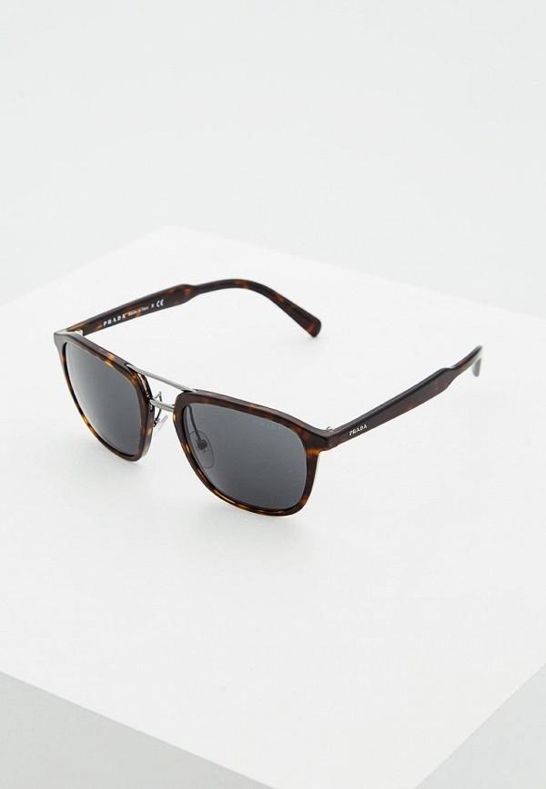 Очки солнцезащитные Prada Prada PR040DMSUK35 очки солнцезащитные prada prada pr040dmsuk35