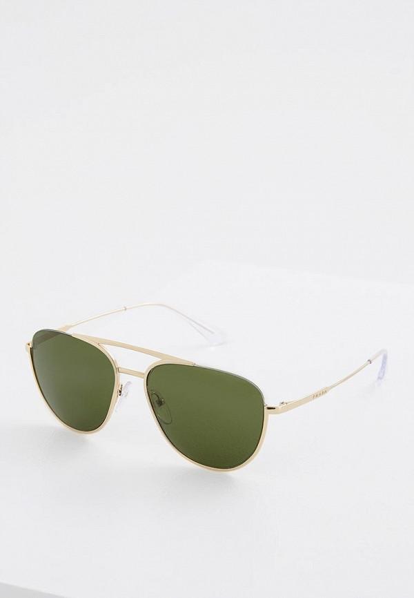 Очки солнцезащитные Prada Prada PR040DMZBW19 очки солнцезащитные prada prada pr040dmsuk35