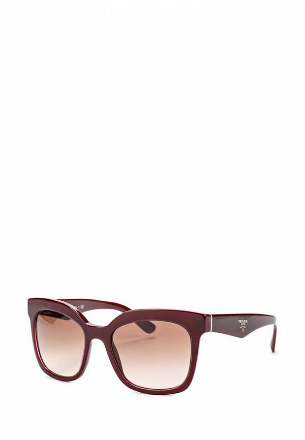 где купить  Очки солнцезащитные Prada Prada PR040DWEOT95  по лучшей цене