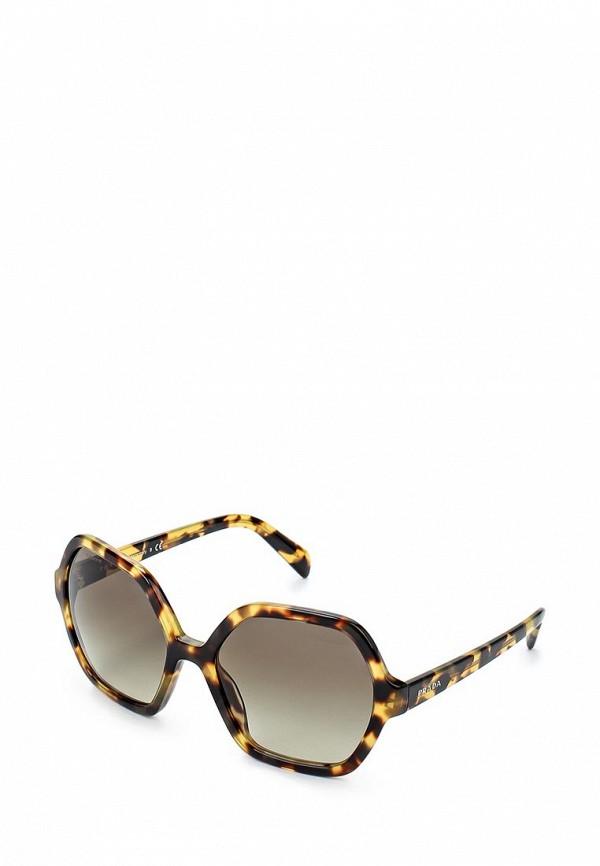 где купить  Очки солнцезащитные Prada Prada PR040DWHFI44  дешево