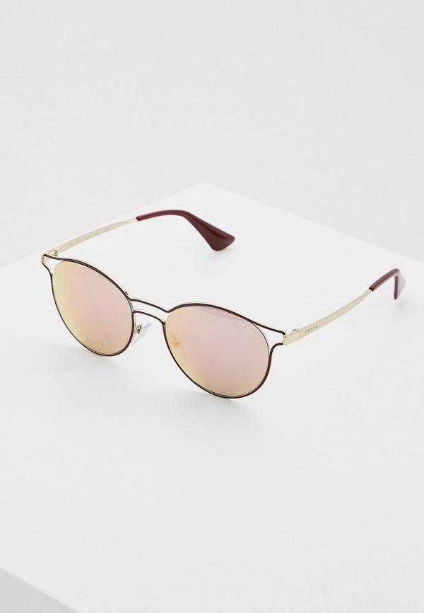 Очки солнцезащитные Prada Prada PR040DWPRY38 очки солнцезащитные prada prada pr040dmsuk35