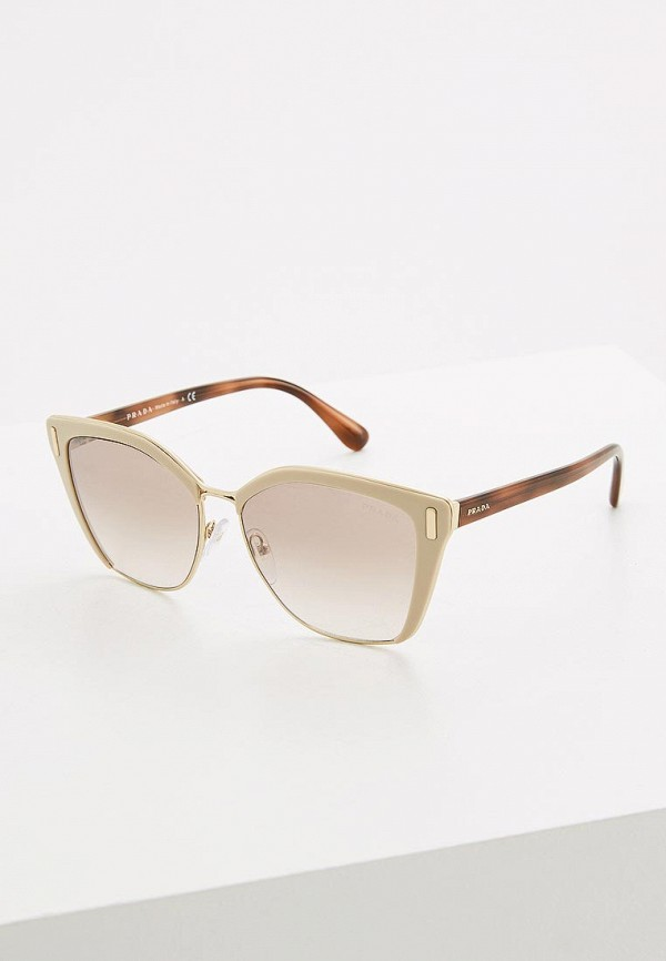 Очки солнцезащитные Prada Prada PR040DWSUK39 очки солнцезащитные prada prada pr040dmsuk35