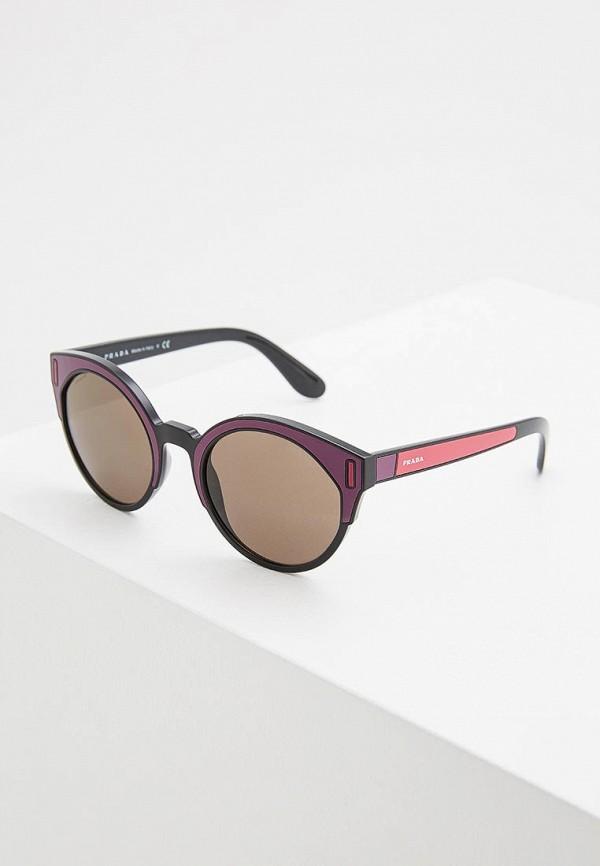 Очки солнцезащитные Prada Prada PR040DWZBW05 очки солнцезащитные prada prada pr040dmsuk35