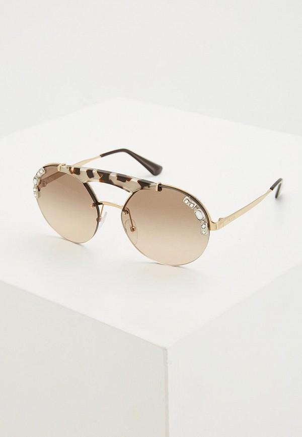 Очки солнцезащитные Prada Prada PR040DWZBW40 очки солнцезащитные prada prada pr040dmsuk35