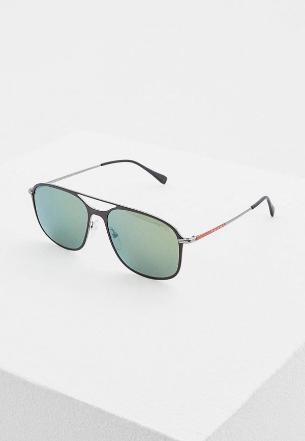 Очки солнцезащитные Prada Linea Rossa Prada Linea Rossa PR044DMATBD4 очки солнцезащитные prada linea rossa prada linea rossa pr044dmdpx28