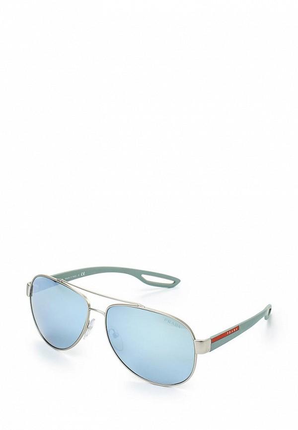 Мужские солнцезащитные очки Prada Linea Rossa 0PS55QS