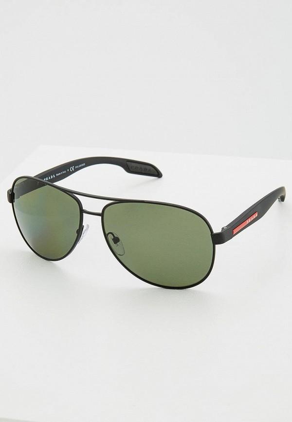 Очки солнцезащитные Prada Linea Rossa Prada Linea Rossa PR044DMZBA79 очки солнцезащитные prada linea rossa prada linea rossa pr044dmozl41