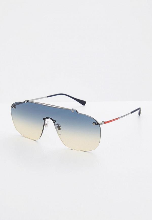 Очки солнцезащитные Prada Linea Rossa Prada Linea Rossa PR044DMZBB02 очки солнцезащитные prada linea rossa prada linea rossa pr044dmdpx28
