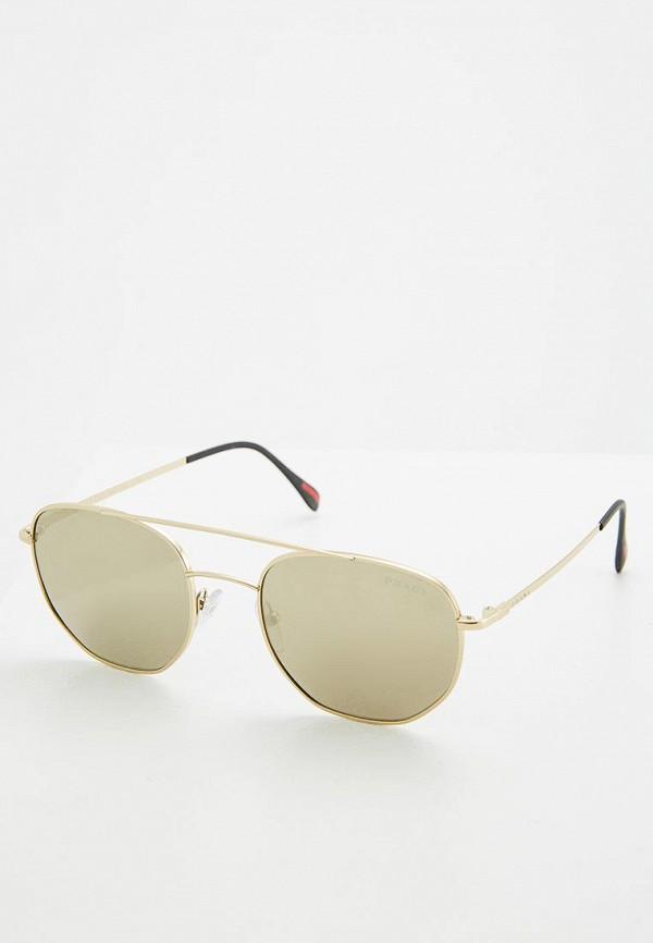 Очки солнцезащитные Prada Linea Rossa Prada Linea Rossa PR044DUZBA82 очки солнцезащитные prada linea rossa prada linea rossa pr044dmozl41