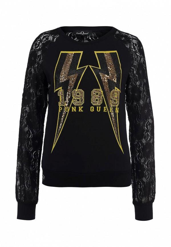 Толстовка Punk Queen SS14CW312701-BLACK