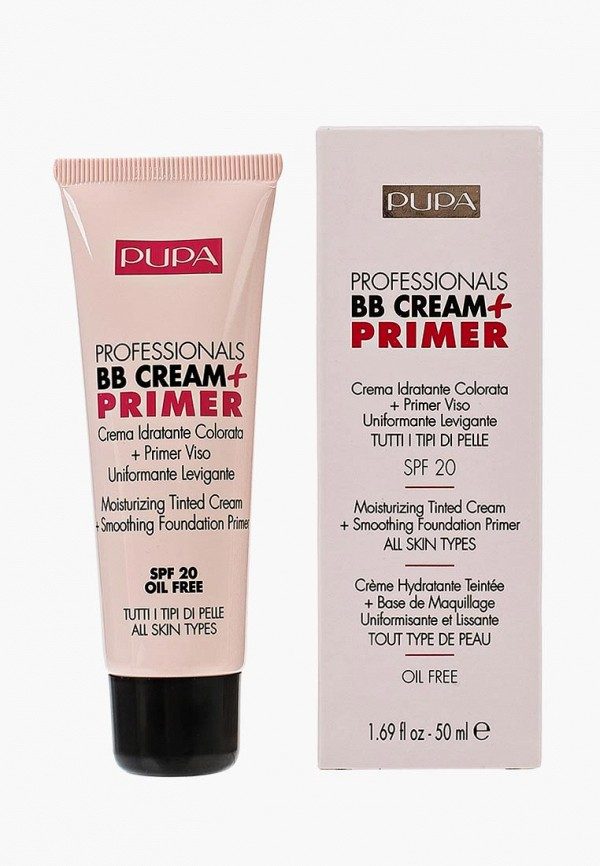 BB-Крем Pupa Pupa PU006LWKHN90 bb крем pupa bb cream primer for combination to oily skin 01 цвет 001 nude variant hex name e9c498