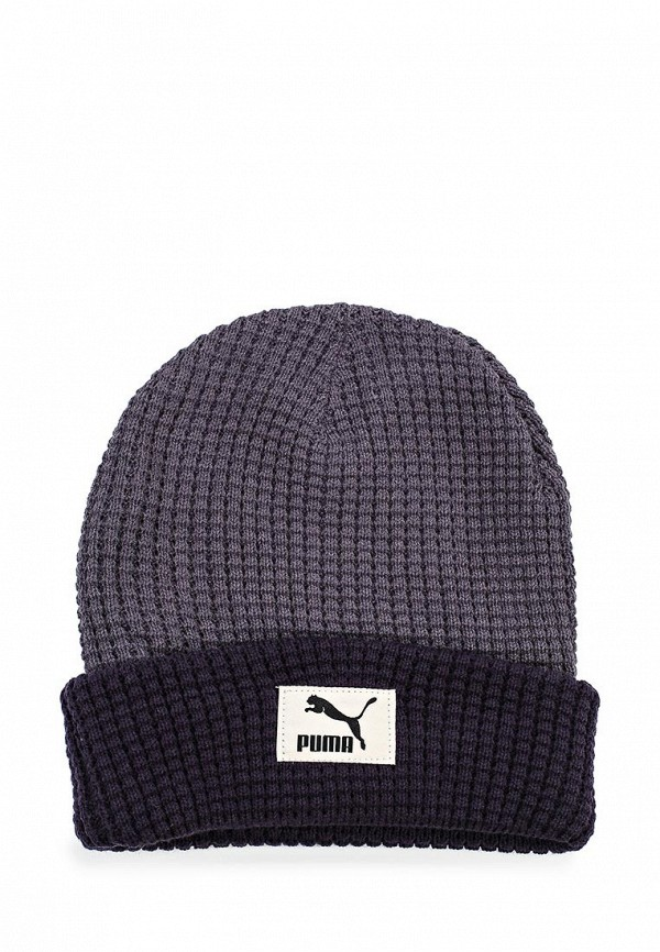 Шапка Puma Fabric Fold Beanie periscope-new navy