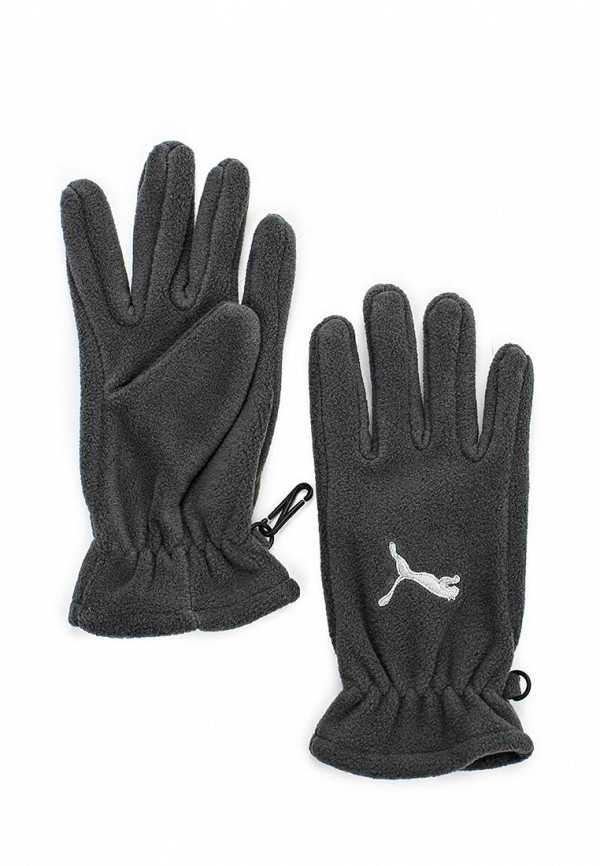 Перчатки Puma Fundamentals Fleece Gloves dark shadow-3