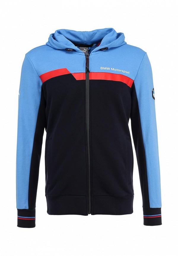 Толстовка Puma BMW MSP Hooded Sweat Jacket marina blue
