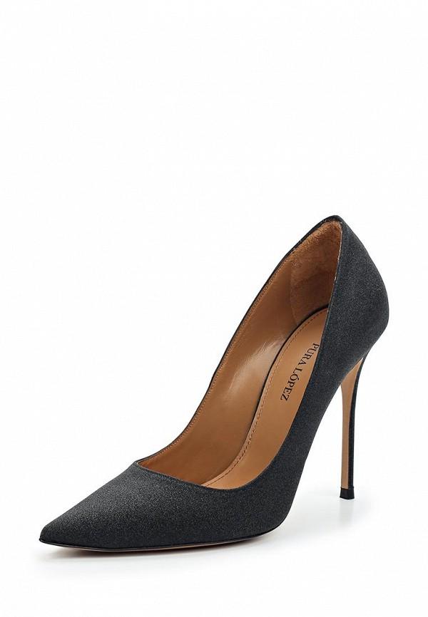Туфли Pura Lopez Pura Lopez PU761AWTPG37 цены онлайн