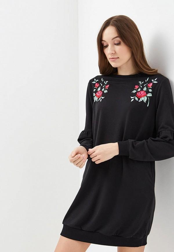 Купить Платье QED London, QE001EWAOQY2, черный, Весна-лето 2018