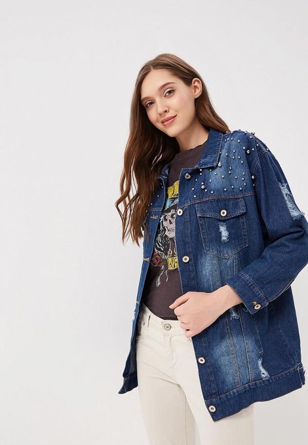 Куртка джинсовая QED London QED London QE001EWAORE5
