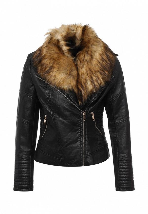 Кожаная куртка QED London NL8126