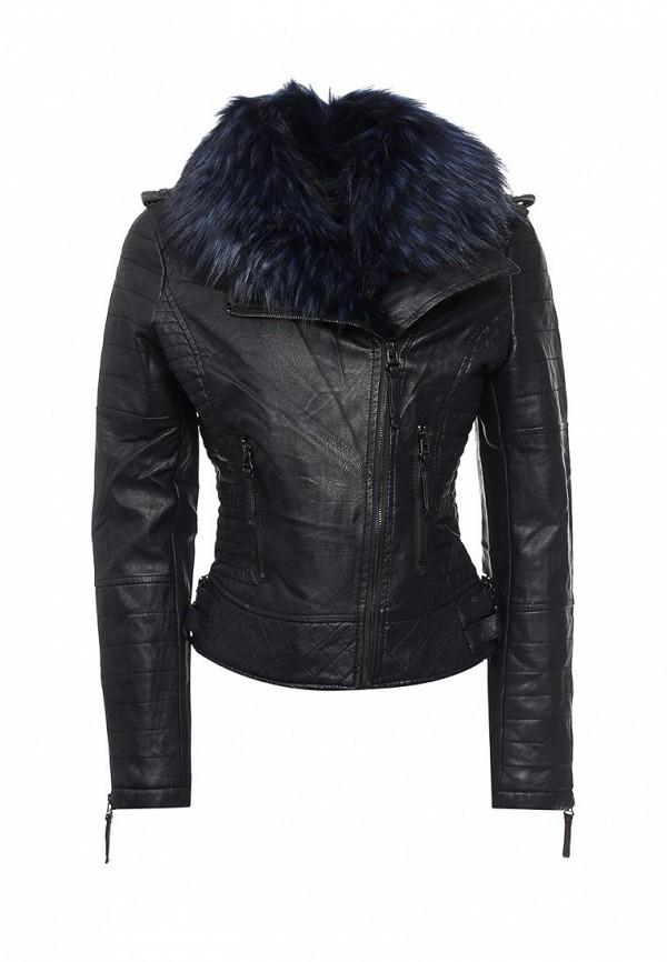 Кожаная куртка QED London NL8152 C