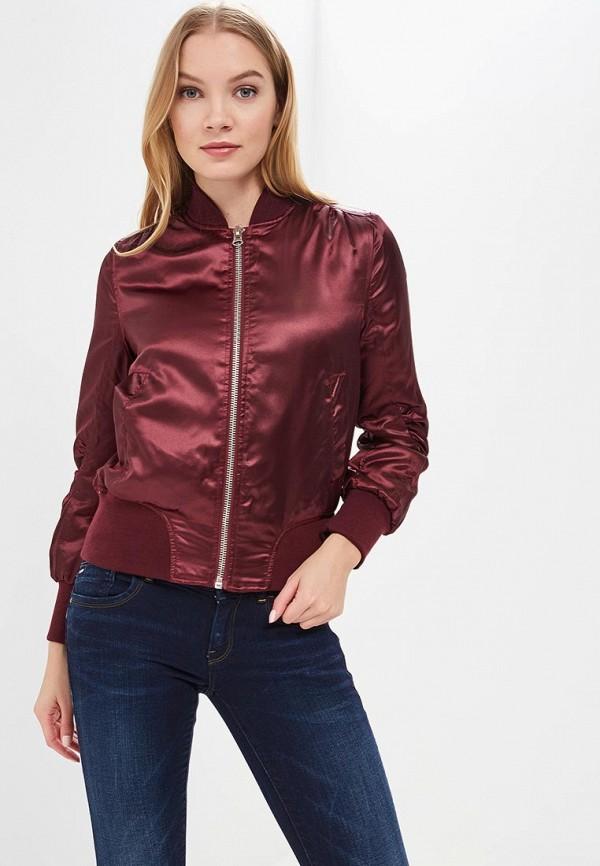 Купить Куртка утепленная QED London, QE001EWRBP15, бордовый, Весна-лето 2018