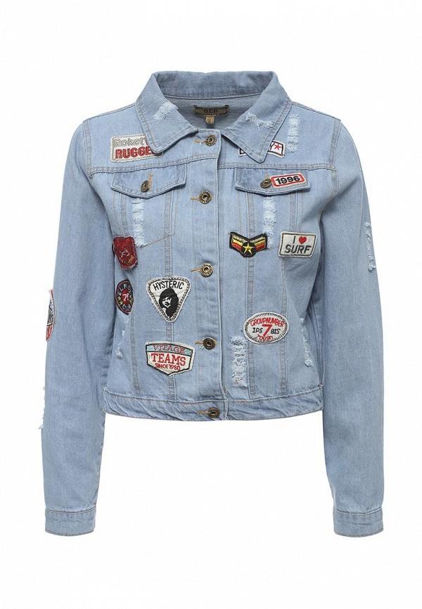 Джинсовая куртка QED London QED0178