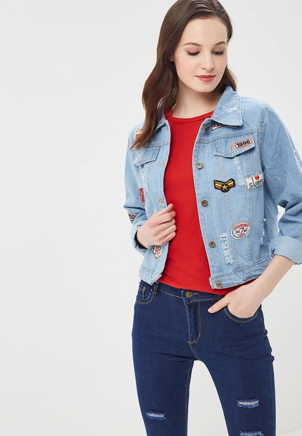Куртка джинсовая QED London QED London QE001EWROL76