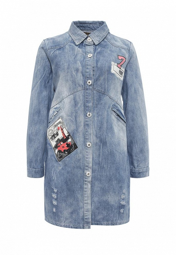 Джинсовая куртка QED London QED0175