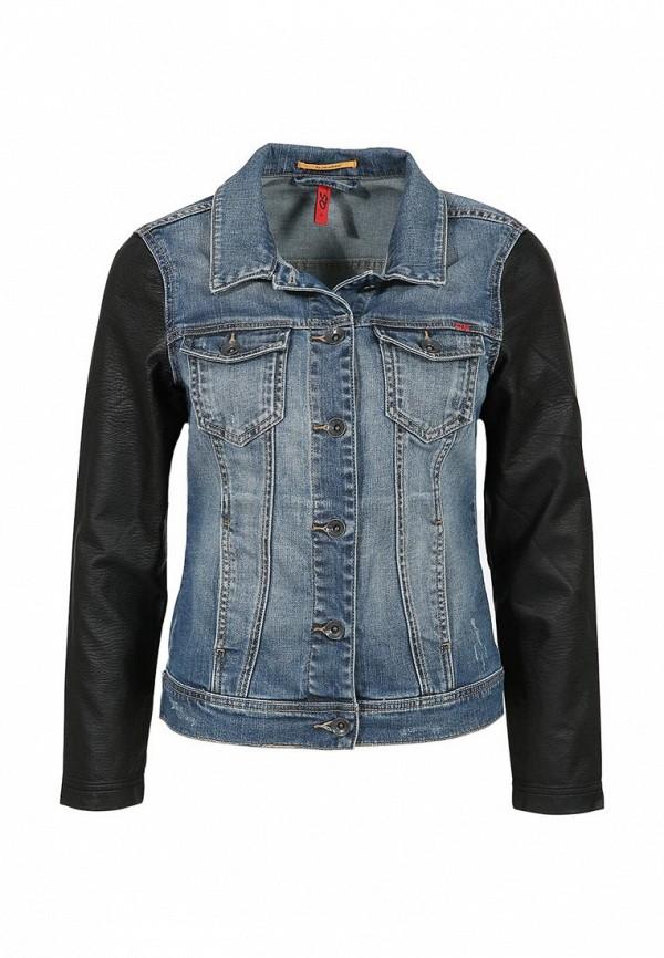 Куртка джинсовая s.Oliver Denim QS by QS002EWJN934. Цвет: синий