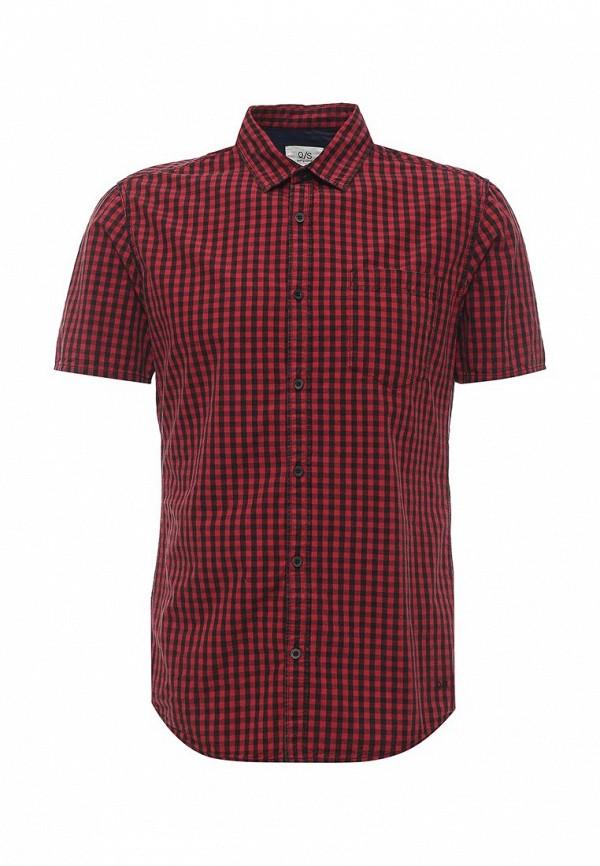 Купить мужскую рубашку Q/S designed by красного цвета