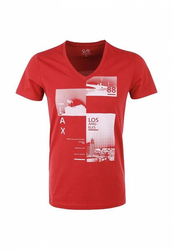 Футболка Q/S designed by Q/S designed by QS006EMQKG89 футболка q s designed by q s designed by qs006emqkh02